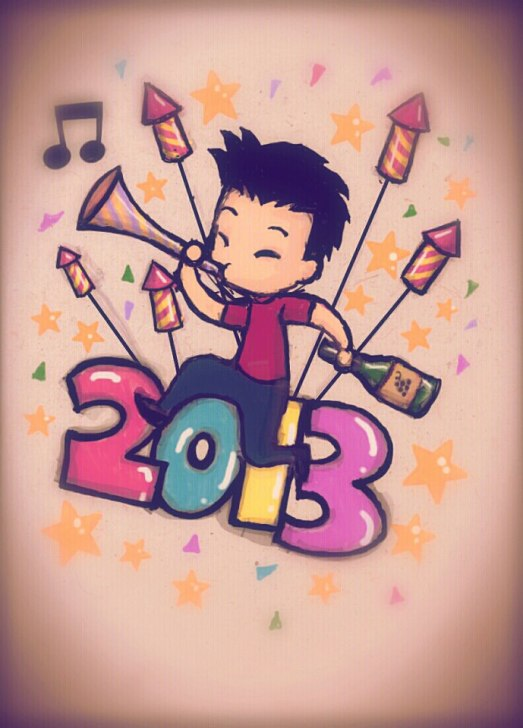 009 HAPPY NEW YEAR 2013