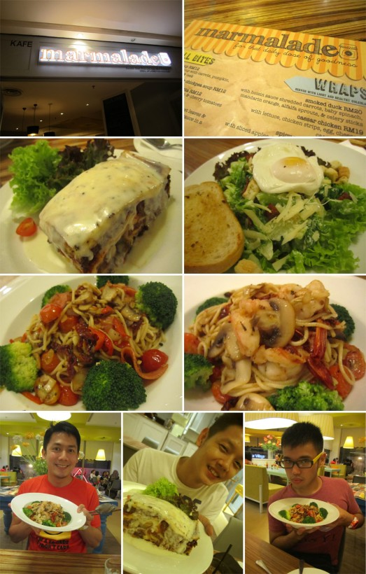 151 DINNER AT MARMALADE