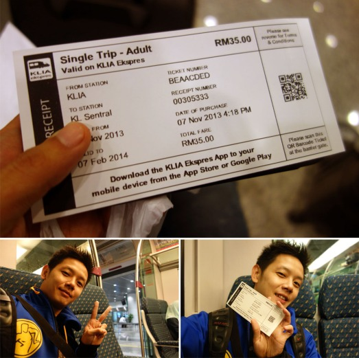 575 FIRST TIME KLIA EXPRESS